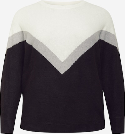 Z-One Sweater 'Ruby' in Grey / Black / White, Item view