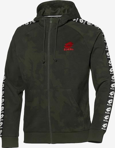 LOTTO Jacke in khaki / schwarz / weiß, Produktansicht
