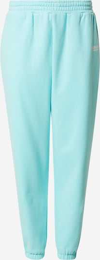 PARI Pants 'SPORTS CLUB' in Turquoise / White, Item view