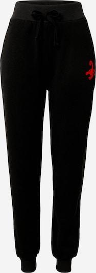 VIERVIER Pantalon 'Kaja' en noir, Vue avec produit
