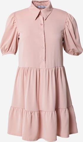 Rochie tip bluză de la WAL G. pe roz