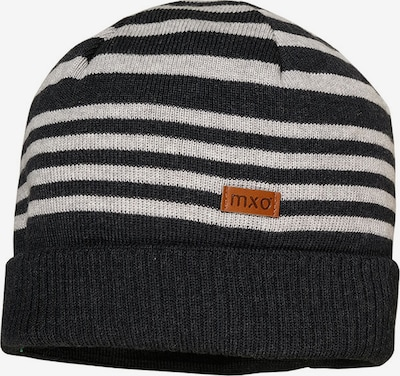 MAXIMO Beanie in grey mottled / white, Item view