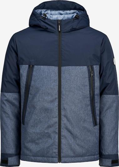 JACK & JONES Winterjas 'BEATLE' in de kleur Navy / Smoky blue, Productweergave