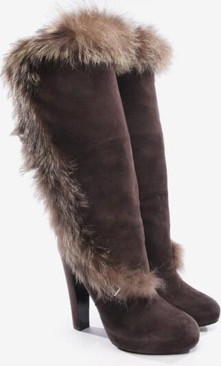 HERMÈS Stiefel in 36,5 in braun, Produktansicht