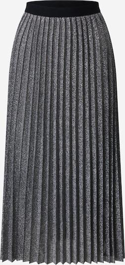 EDITED Jupe 'Wilia' en gris / argent, Vue avec produit