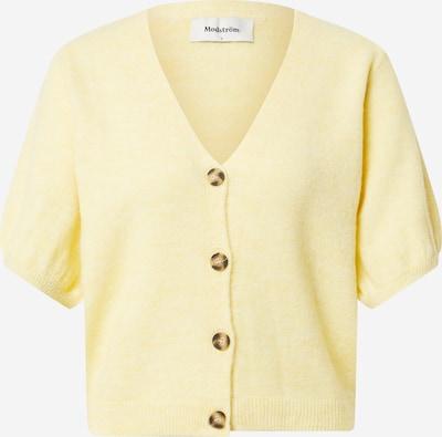 modström Cardigan 'Irene' en jaune clair, Vue avec produit
