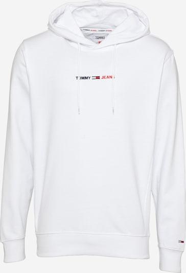 Tommy Jeans Sweatshirt in nachtblau / hellrot / weiß, Produktansicht