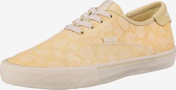 COACH Sneaker in Gelb