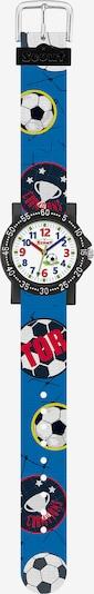 SCOUT Uhr in royalblau / dunkelblau / schwarz / weiß, Produktansicht