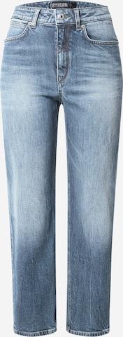 Jeans 'Mom' de la DRYKORN pe albastru