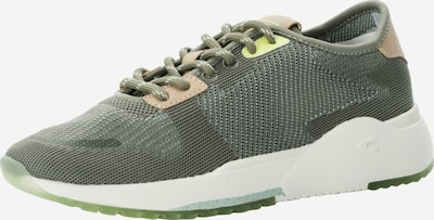 CAMEL ACTIVE Sneaker in hellbraun / gelb / grün, Produktansicht