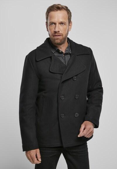 Brandit Winterjas in de kleur Zwart, Modelweergave