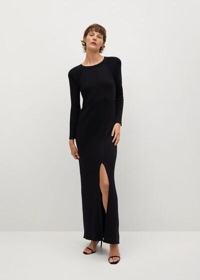 MANGO Kleid 'Punti-I' in schwarz, Modelansicht
