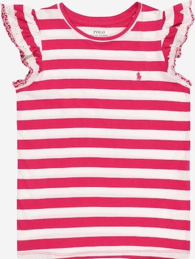 POLO RALPH LAUREN Shirt in pink / weiß, Produktansicht