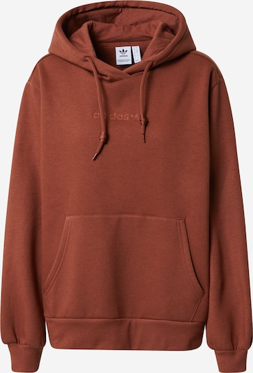 ADIDAS ORIGINALS Sweat-shirt en marron, Vue avec produit