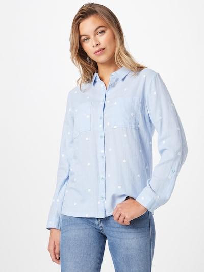 WHITE STUFF Bluse 'Emilia' in hellblau / weiß, Modelansicht