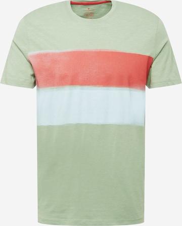 T-Shirt TOM TAILOR en vert