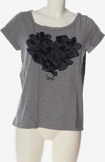 SANSIBAR Strickshirt in S in hellgrau, Produktansicht