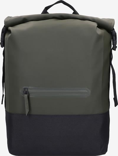 RAINS Rucksack 'Buckle' in oliv / schwarz, Produktansicht
