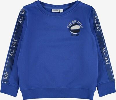 NAME IT Sweatshirt 'Loui' in Blue / White, Item view