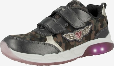 GEOX Sneaker 'J Spaziale G. A' in grau / mischfarben, Produktansicht