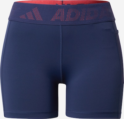 Pantaloni sport ADIDAS PERFORMANCE pe navy / pepene, Vizualizare produs