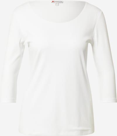 STREET ONE Shirt in offwhite, Produktansicht
