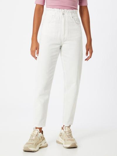 Gina Tricot Teksapüksid valge, Modellivaade