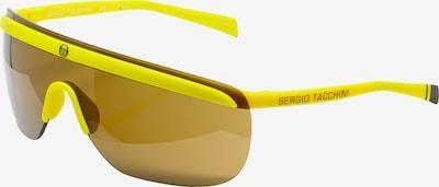 Sergio Tacchini Sonnenbrille 'Eyewear Technical black' in gelb, Produktansicht