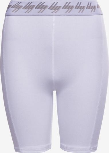 Superdry Pantalon de sport en gris clair / rose / blanc, Vue avec produit