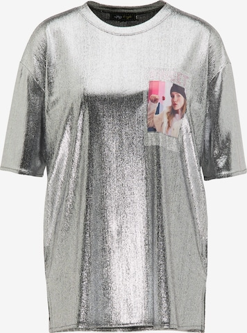 myMo at night Shirt in Silber