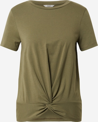 OBJECT Shirt 'STEPHANIE' in olive: Frontal view