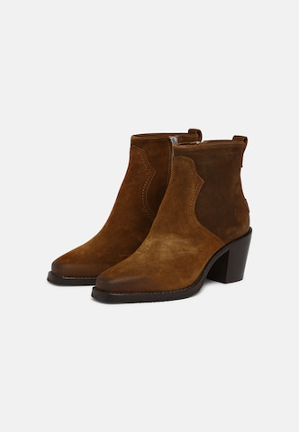 SHABBIES AMSTERDAM Snow Boots in Brown