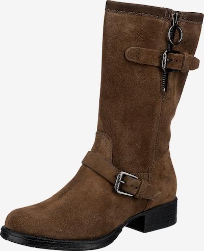 JOLANA & FENENA Klassische Stiefel in cognac, Produktansicht
