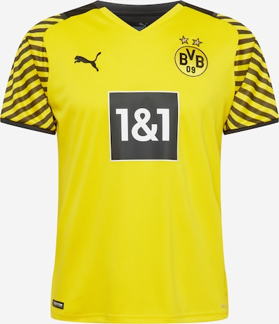 PUMA Maillot 'Borussia Dortmund' en citron vert / noir / blanc, Vue avec produit