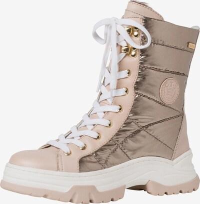 JANA Sneaker in beige: Frontalansicht