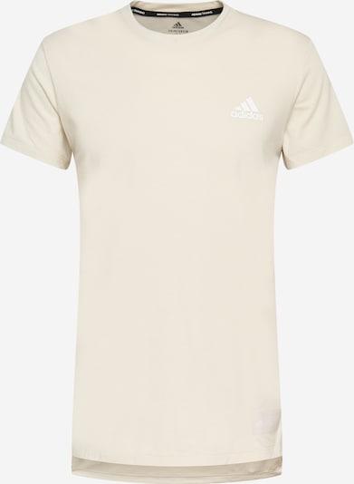 ADIDAS PERFORMANCE Sportshirt in wollweiß, Produktansicht