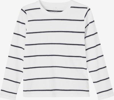 NAME IT Majica 'Tanovo' u mornarsko plava / siva / bijela, Pregled proizvoda