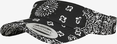 Flexfit Casquette en noir / blanc, Vue avec produit