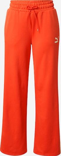 PUMA Pantalon 'Iconic T7' en rouge / blanc, Vue avec produit