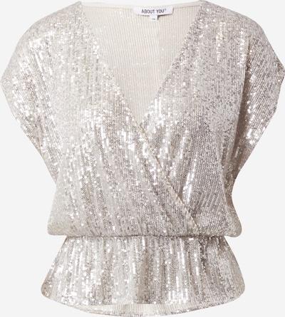 ABOUT YOU Tričko 'Sonja' - krémová / stříbrná, Produkt