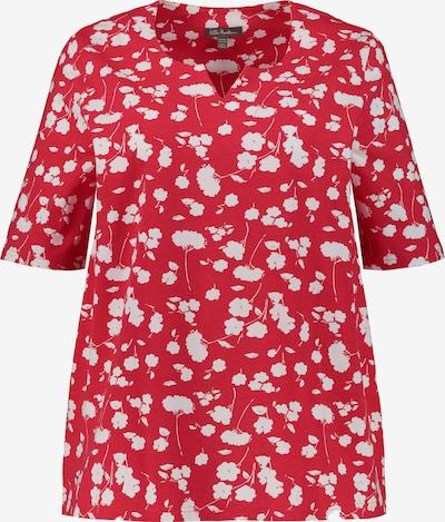 Ulla Popken Shirt in de kleur Lichtrood / Wit, Productweergave