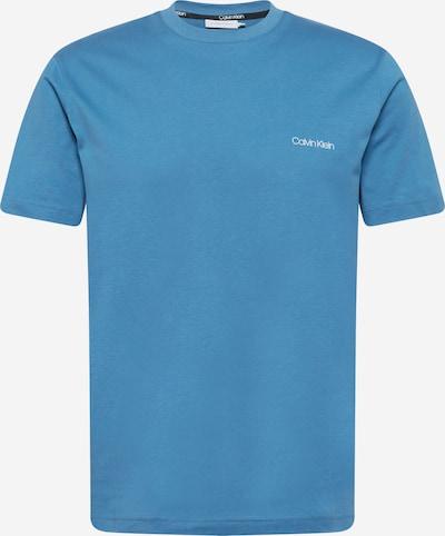 Calvin Klein T-Shirt in himmelblau / weiß, Produktansicht