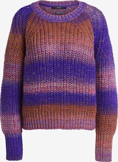 SET Pullover in camel / lila, Produktansicht