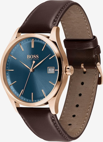BOSS Casual Uhr 'Commisioner' in Braun
