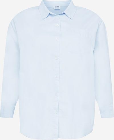 Cotton On Curve Blouse in de kleur Lichtblauw, Productweergave