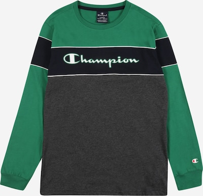 Champion Authentic Athletic Apparel Shirt in nachtblau / dunkelgrau / grün / offwhite, Produktansicht