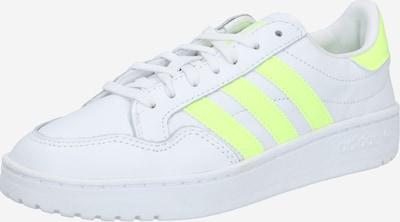 ADIDAS ORIGINALS Sneaker 'Team Court' in neongelb / weiß, Produktansicht