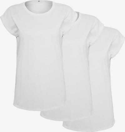 Build your Brand T-Shirt in weiß, Produktansicht