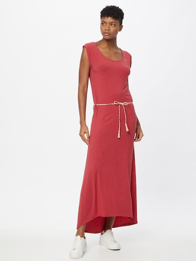 Vasarinė suknelė 'TAG' iš Ragwear , spalva - raudona, Modelio vaizdas